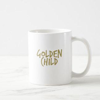 Taza De Café Niño de oro