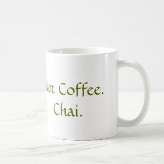 Taza De Café No café: Chai