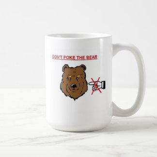 Taza De Café No empuje el oso