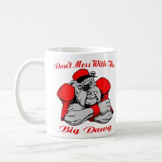 Taza De Café No ensucie el perro grande