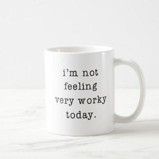 Taza De Café No estoy sintiendo mismo chiste de la oficina de