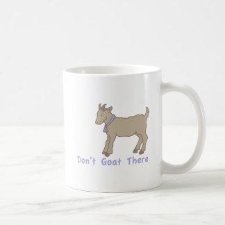 Taza De Café No hace la cabra allí