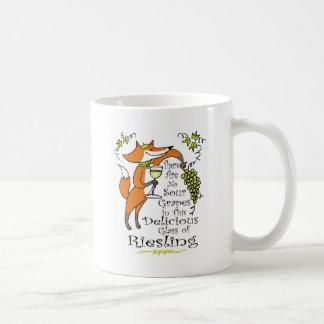 Taza De Café ¡No hay envidia en este Riesling!