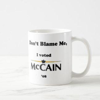 Taza De Café no me culpe