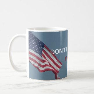 Taza De Café No me culpe el | que voté por Bernie político