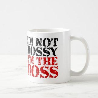 Taza De Café No soy mandón yo soy el jefe