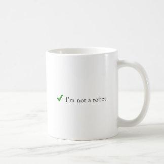 Taza De Café No soy una verificación divertida Captcha del