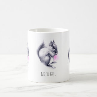 Taza De Café Nombre de encargo de Sr. Squirrel el |