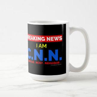 Taza De Café Noticias de última hora: Soy el vecino Nosy