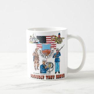 Taza De Café nuestros militares