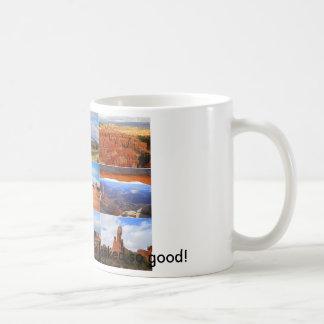 Taza De Café Nueve iconos del paisaje de Utah