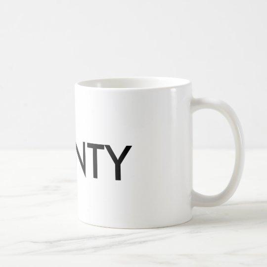 Taza De Café número de acuerdo del inglés del símbolo del