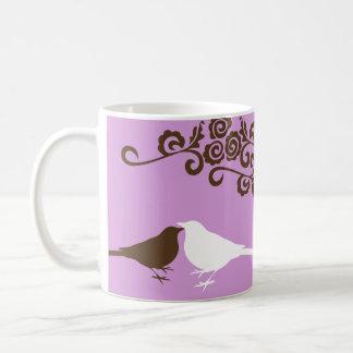 Taza de café nupcial conocida de encargo del regal