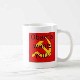 Taza De Café Obama