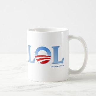 Taza De Café Obama LOL