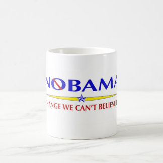 Taza De Café Obama NOBAMA