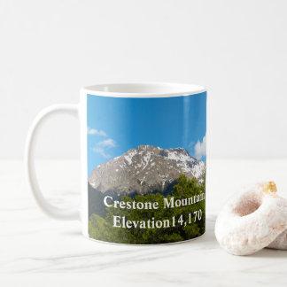 Taza De Café Objetos de recuerdo de Crestone Colorado * montaña