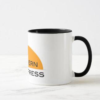 Taza de café occidental de la prensa libre