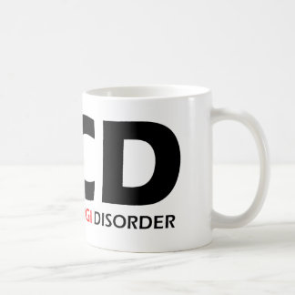 Taza De Café OCD - Desorden obsesivo del Corgi