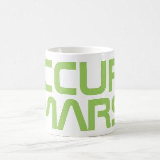 "TAZA DE CAFÉ ""OCUPE MARTE """