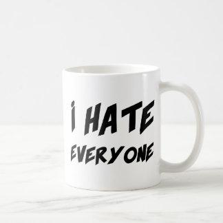 Taza De Café Odio cada uno