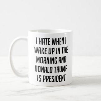 Taza De Café Odio cuando despierto el triunfo anti