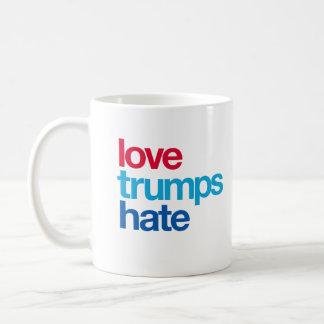 Taza De Café Odio de los triunfos del amor