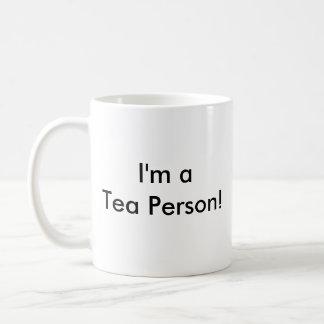 Taza De Café ¡Odio el café! ¡, Soy una persona del té!