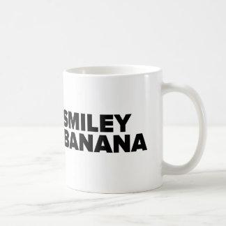 Taza De Café Official Smiley Banana Mug