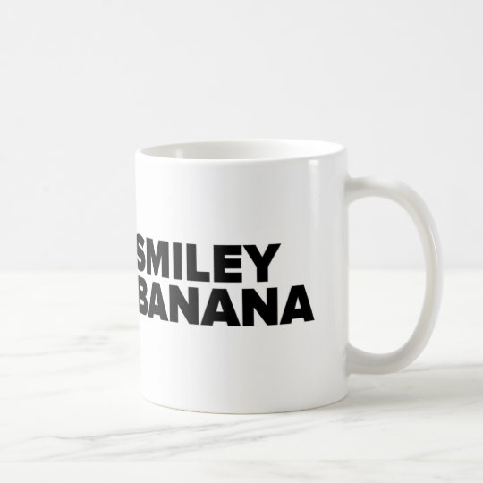 Taza De Café Official Smiley Banana Mug