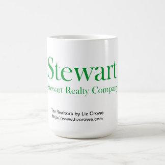 Taza de café oficial de los bienes raices de