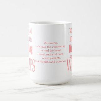 Taza De Café ¡Oficio de enfermera-No de la salud mental para