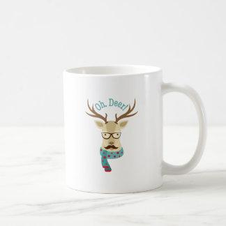 Taza De Café Oh ciervos