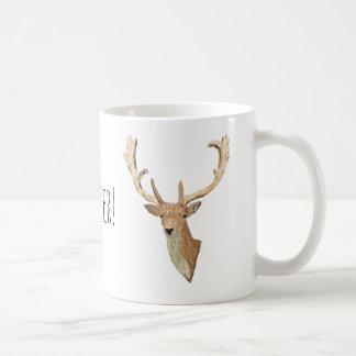 Taza De Café Oh ciervos - ciervos de mirada naturales - vida