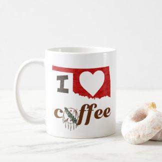 Taza De Café Oklahoma, amo el café