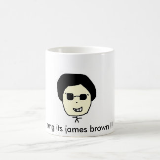 Taza De Café ¡omg su marrón de james!!!