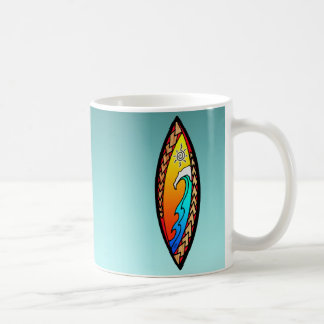 Taza De Café Onda de la punta de lanza