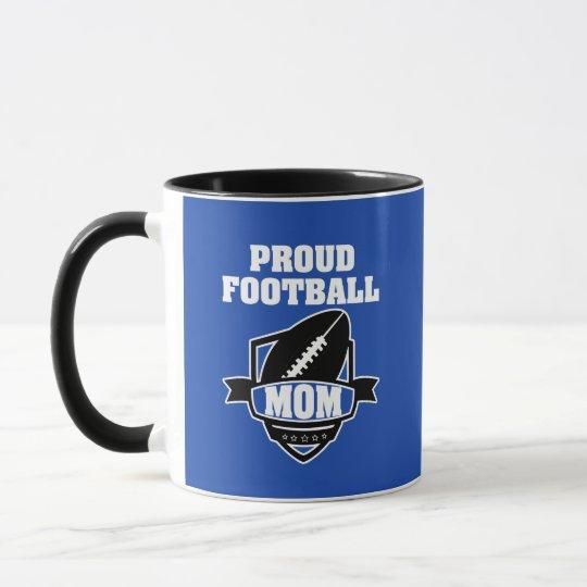 Taza de café orgullosa de la mamá del fútbol