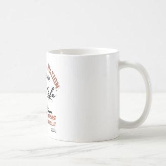 Taza De Café Original de la VIDA del ACEITE