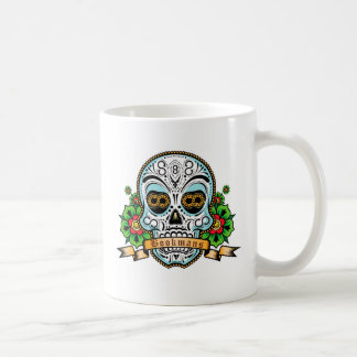 Taza De Café Original del cráneo del azúcar
