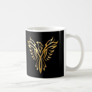 Taza De Café Oro fresco personalizado Phoenix
