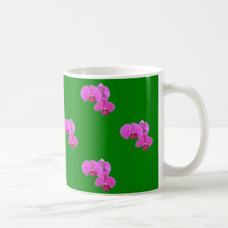 Taza De Café Orquídeas rosadas