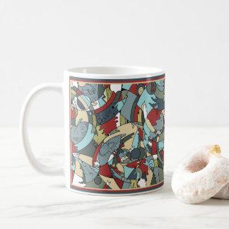 Taza De Café Oscilación