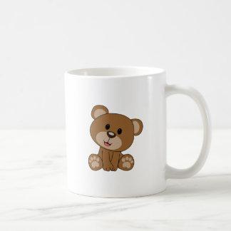 Taza De Café Oso de peluche de Brown