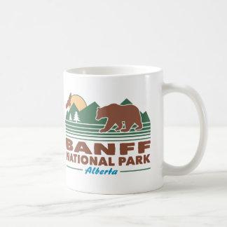 Taza De Café Oso del parque nacional de Banff