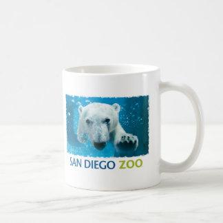 Taza De Café Oso polar del parque zoológico de San Diego