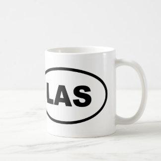 Taza De Café Óvalo de LAS Las Vegas