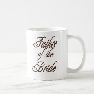 Taza De Café Padre de los marrones con clase de la novia