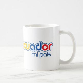 Taza De Café Pais de Ecuador MI