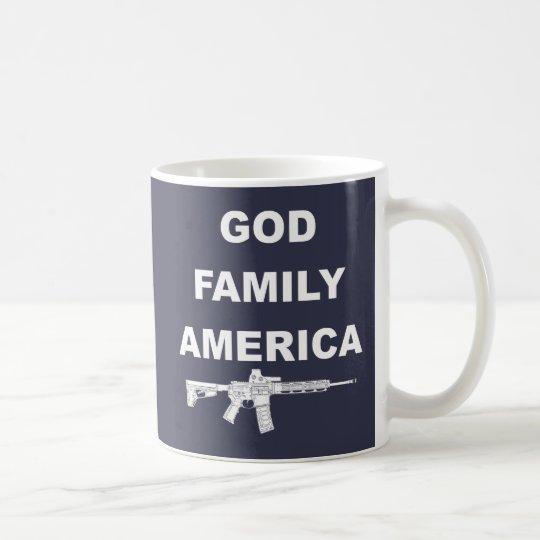 Taza De Café País de la familia de dios